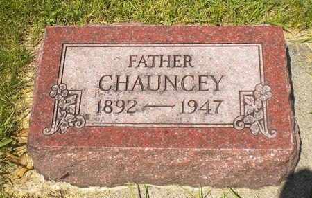BUCK, CHAUNCEY - Shelby County, Iowa   CHAUNCEY BUCK