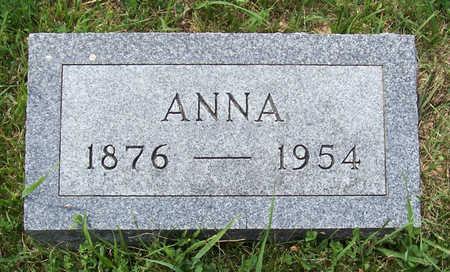 BUCKLEY, ANNA - Shelby County, Iowa | ANNA BUCKLEY