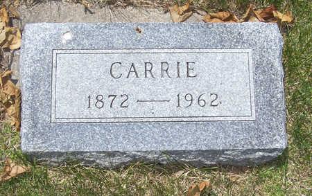 BUCKLEY, CARRIE - Shelby County, Iowa | CARRIE BUCKLEY