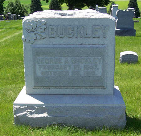 BUCKLEY, GEORGE A. - Shelby County, Iowa | GEORGE A. BUCKLEY