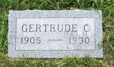 BUCKLEY, GERTRUDE C. - Shelby County, Iowa | GERTRUDE C. BUCKLEY