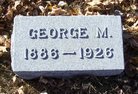 BUCKLEY, GEORGE M. - Shelby County, Iowa | GEORGE M. BUCKLEY