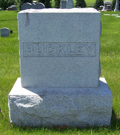 BUCKLEY, HENRY H. (LOT) - Shelby County, Iowa | HENRY H. (LOT) BUCKLEY