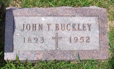 BUCKLEY, JOHN T. - Shelby County, Iowa | JOHN T. BUCKLEY