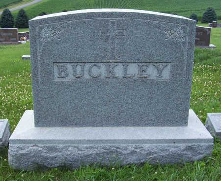 BUCKLEY, JOHN & CATHERINE (LOT) - Shelby County, Iowa | JOHN & CATHERINE (LOT) BUCKLEY