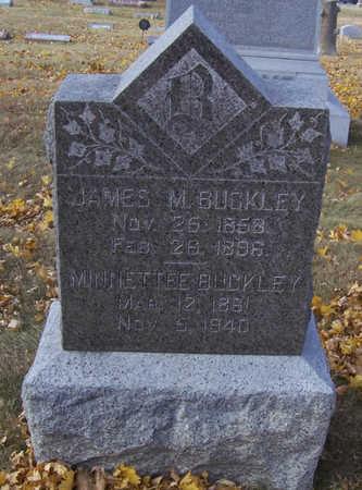 BUCKLEY, MINNETTEE - Shelby County, Iowa | MINNETTEE BUCKLEY