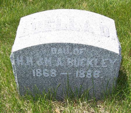 BUCKLEY, LUELLA D. - Shelby County, Iowa | LUELLA D. BUCKLEY