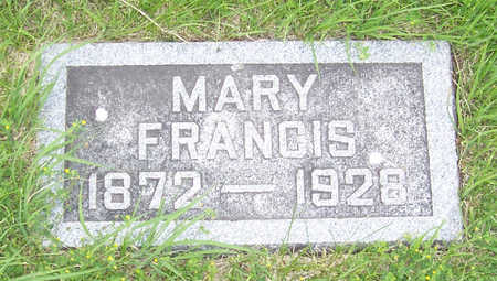 MCALLISTER BUCKLEY, MARY FRANCIS - Shelby County, Iowa | MARY FRANCIS MCALLISTER BUCKLEY