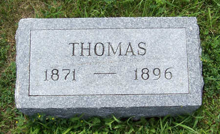 BUCKLEY, THOMAS - Shelby County, Iowa | THOMAS BUCKLEY