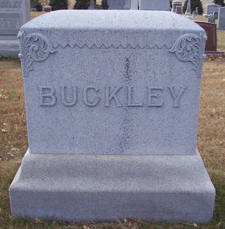 BUCKLEY, WILLIAM & NANCY (LOT) - Shelby County, Iowa | WILLIAM & NANCY (LOT) BUCKLEY