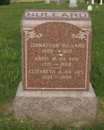 BULLARD, ELIZABETH A. - Shelby County, Iowa   ELIZABETH A. BULLARD