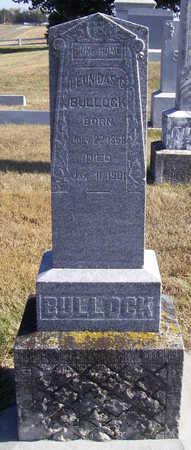 BULLOCK, LEONIDAS G. - Shelby County, Iowa | LEONIDAS G. BULLOCK