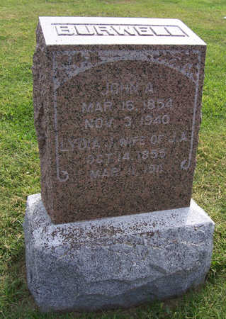 BURWELL, JOHN A. - Shelby County, Iowa | JOHN A. BURWELL