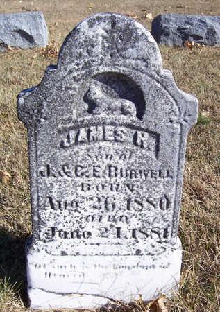BURWELL, JAMES H. - Shelby County, Iowa | JAMES H. BURWELL