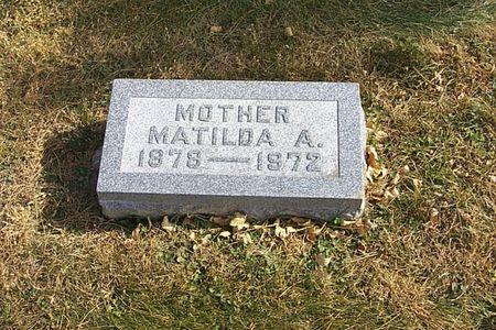 BUSS, MATILDA A. - Shelby County, Iowa | MATILDA A. BUSS
