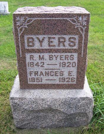 BYERS, FRANCES E. - Shelby County, Iowa | FRANCES E. BYERS