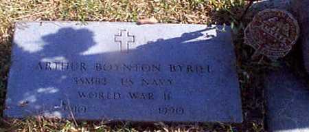 BYRIEL, ARTHUR BOYNTON - Shelby County, Iowa | ARTHUR BOYNTON BYRIEL