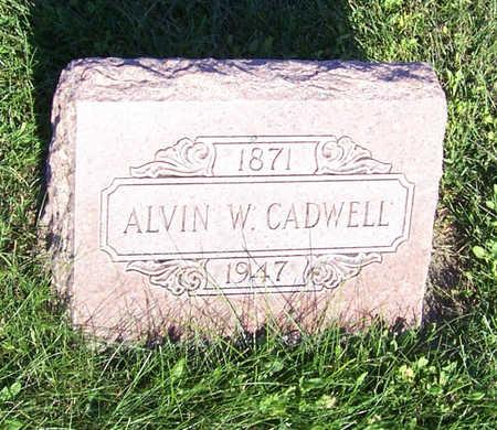 CADWELL, ALVIN W. - Shelby County, Iowa | ALVIN W. CADWELL