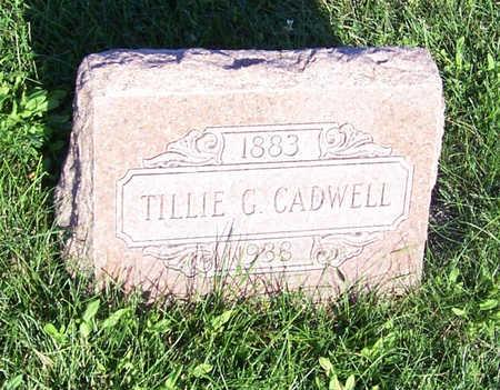 CADWELL, TILLIE G. - Shelby County, Iowa | TILLIE G. CADWELL