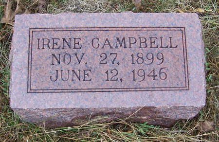 CAMPBELL, IRENE - Shelby County, Iowa | IRENE CAMPBELL
