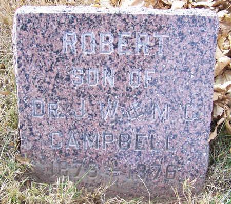 CAMPBELL, ROBERT - Shelby County, Iowa   ROBERT CAMPBELL