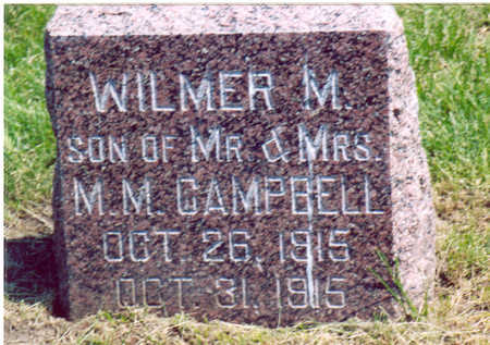 CAMPBELL, WILMER M. - Shelby County, Iowa | WILMER M. CAMPBELL