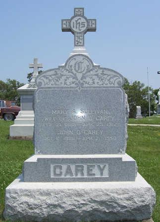 CAREY, MARY A. - Shelby County, Iowa   MARY A. CAREY