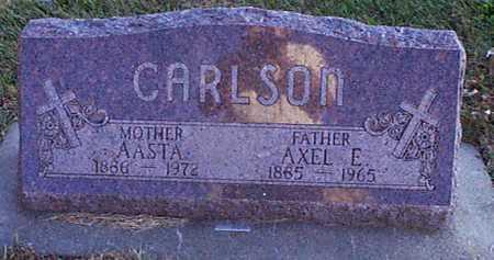 CARLSON, AXEL E - Shelby County, Iowa   AXEL E CARLSON