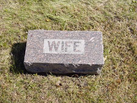 CARLSON, WIFE   (ANNA K.) - Shelby County, Iowa | WIFE   (ANNA K.) CARLSON