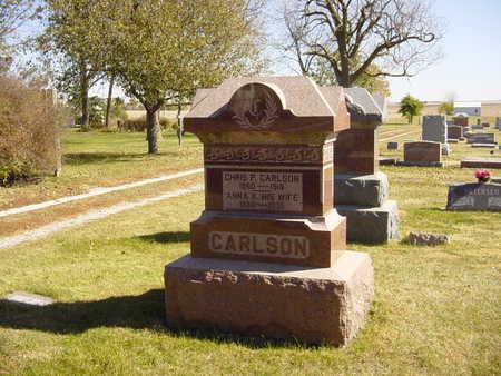 CARLSON, CHRIS P - Shelby County, Iowa   CHRIS P CARLSON