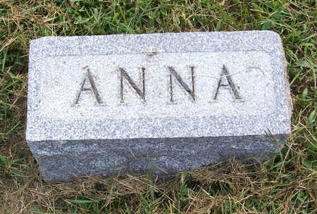 CARMICHAEL (?), ANNA - Shelby County, Iowa | ANNA CARMICHAEL (?)