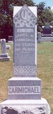CARMICHAEL, DANIEL W. - Shelby County, Iowa | DANIEL W. CARMICHAEL