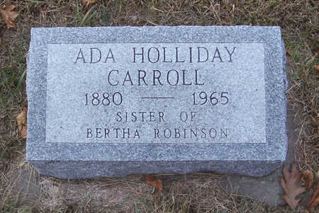 CARROLL, ADA - Shelby County, Iowa | ADA CARROLL