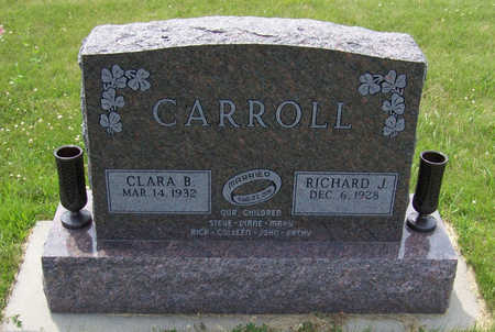 CARROLL, RICHARD J. - Shelby County, Iowa | RICHARD J. CARROLL