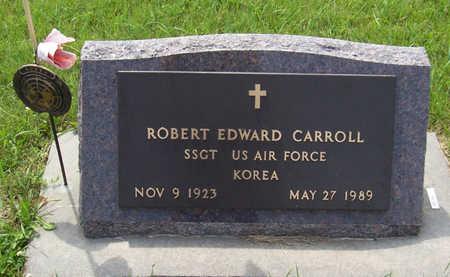 CARROLL, ROBERT EDWARD (MILITARY) - Shelby County, Iowa   ROBERT EDWARD (MILITARY) CARROLL