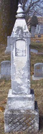 CARSON, LIZZIE BEISLLINE - Shelby County, Iowa   LIZZIE BEISLLINE CARSON