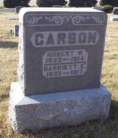 CARSON, ROBERT W. - Shelby County, Iowa | ROBERT W. CARSON