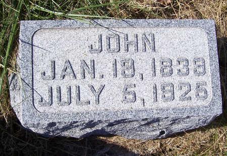 CARSTENS, JOHN - Shelby County, Iowa | JOHN CARSTENS