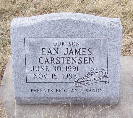 CARSTENSEN, EAN JAMES - Shelby County, Iowa   EAN JAMES CARSTENSEN