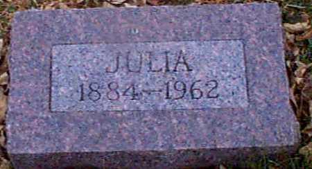 CARSTENSEN, JULIA - Shelby County, Iowa | JULIA CARSTENSEN