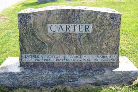 CARTER, GRACE M. (MOTHER) - Shelby County, Iowa | GRACE M. (MOTHER) CARTER