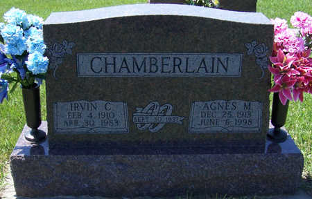 PETSCHE CHAMBERLAIN, AGNES M. - Shelby County, Iowa   AGNES M. PETSCHE CHAMBERLAIN