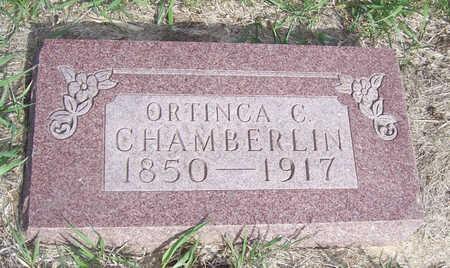CHAMBERLIN, ORTHINCA C. - Shelby County, Iowa   ORTHINCA C. CHAMBERLIN
