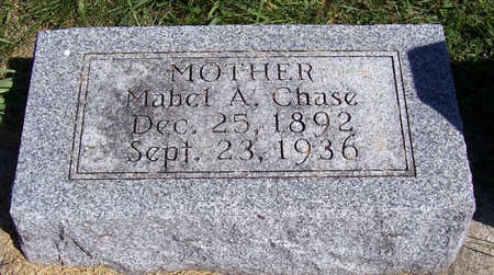 CHASE, MABEL A. (MOTHER) - Shelby County, Iowa   MABEL A. (MOTHER) CHASE