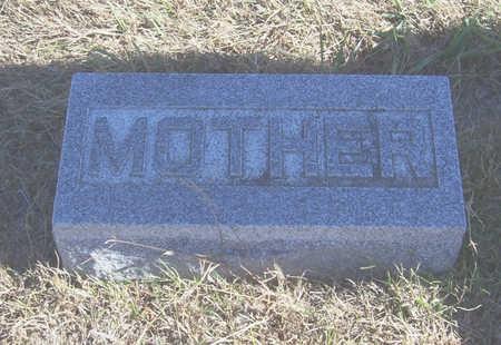 CHESNUT, HATTIE A. (MOTHER) - Shelby County, Iowa | HATTIE A. (MOTHER) CHESNUT