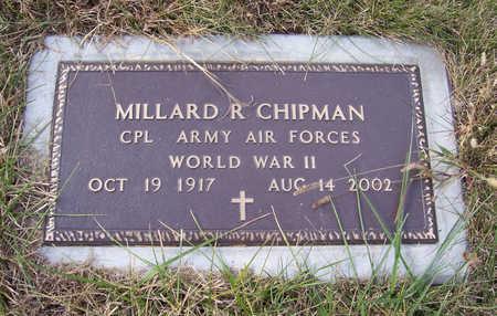 CHIPMAN, MILLARD R. (MILITARY) - Shelby County, Iowa   MILLARD R. (MILITARY) CHIPMAN