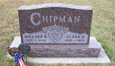 CHIPMAN, MILLARD R. - Shelby County, Iowa   MILLARD R. CHIPMAN