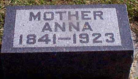 CHRISTENSEN, ANNA - Shelby County, Iowa   ANNA CHRISTENSEN