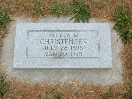 CHRISTENSEN, ANDREW M - Shelby County, Iowa | ANDREW M CHRISTENSEN