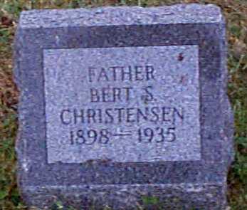 CHRISTENSEN, BERT S - Shelby County, Iowa | BERT S CHRISTENSEN